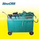 Easy operated high quality rebar tapered threading machine