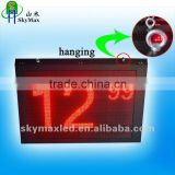 Hanging High brightness Outdoor LED Open Sign for gas station price display