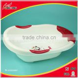 Big new colorful cheap kids plastic bathtub with stand
