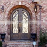 Top selling wrought iron front doors