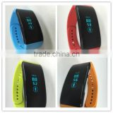 0.96 Inch OLED Bluetooth Smart Waterproof Sports Fitness Tracker Bracelet Watch Android IOS mobile
