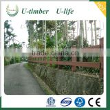 Eco-friendly anti-uv WPC partition panels for garden