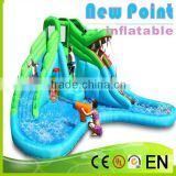 New Point inflatable water slides for summer,best sell attracting inflatable slide,inflatable water slidekids