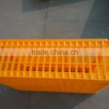 Hot Sales Plastic Poultry chicken transport crate coops for sale