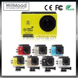 Witmood Mini DV Action Camera HD 1080P Sport Camera 2.0in LCD 170 Degree Wide Angle Lens 30M Waterproof Mini Camcorders