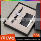 Novelty man gift set for business gift with pen notebook card holder                                                                         Quality Choice