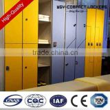 WGY hpl panel toilet partition, compact laminate toilet cubicles with aluminium toilet door