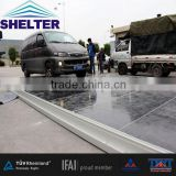 Plywood material cassette flooring for different aluminum tent,loading 250kg/sqm for all the material