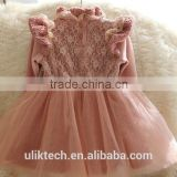 2015 cheap skirt for girls lace dress for 2-8 years popupar cheap children's fine quality dresses