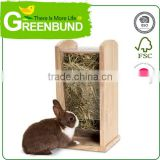 Rabbit Guinea Pig Hay Manger For Hutch Herbage feeder