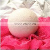 Nature whiti wool dryer balls with cotton bag
