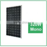 High efficiency and Good Quality 320W mono Solar Panels for home use, with A grade solar cells                                                                         Quality Choice