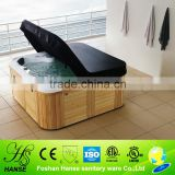 2.2m length mini hot tub spa/tv spa tubs/balboa spa sex massage hot tub