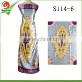 bangalore fabric ankara silk fabric digital Printed holland wax fabric for dashiki t shirt