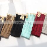 Fashionable wholesale lace short boot cuffs