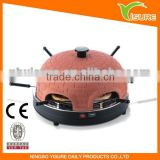 Electric conveyor pizza oven 6 person pizza dome