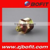 BOFIT brass male thread straight hydraulic grease fitting