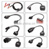 8PCS Full Set OBD2 Diagnostic12v Car Adapter Male to Female for CDP PRO PLUS Car