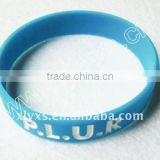 Rubber Energy Balance Bracelet Band ,Silicone Wrist Bands for Debossed
