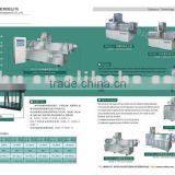 Twin screw extruder- for snacks ,pet food ,fish feed ,corn flakes,soya protein