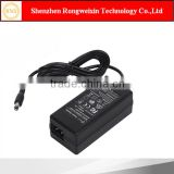 AC DC power adapter 24V 2A mini desktop style for laptop with UL FCC CB CE SAA C-tick certification