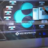 70inch window glass display 3D holographic priojector IR touch screen multi touch screen                                                                         Quality Choice