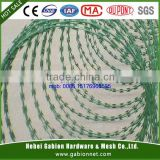 BTO/CBT10-65 PVC Coated Razor Wire/Galvanized Razor Wire Manufactory ( Factory Sale Price )