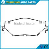 spare parts car 04465-53020 front brake pad for lexus is250 2006 - 2014