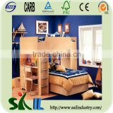 wooden children popular children bunk bed