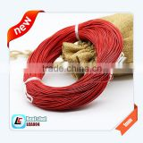1mm 1.5mm 2mm Real Cow Leather Cord Pantone Color Available