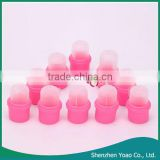 2015 Newest 10Pcs Wearable Nail Soak Cap Acrylic Nail Polish Remover