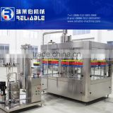 Soda / carbonated water bottling filling machine