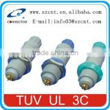 Original push pull plastic more color power female and male SZCNT Connector manufactory