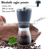 coffee grinder, coffee mill, Italian coffee grinder, Manual ceramice burr coffee grinder Only USD6.5/piece