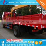 8 tons XCMG pickup truck crane hydraulic mobile crane truck mounted crane                                                                                                         Supplier's Choice