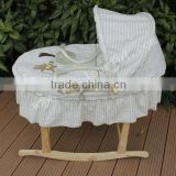 hot selling baby moses basket set with wood stand                                                                         Quality Choice
