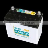 low maintenance free automobile battery