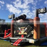 High Quality Customized Double Lane Pirate Inflatable Jumping Bouncer Slide Combo able Bouncer Slide Combo