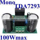 TDA7293 85W Mono Channel Audio Power Amplifier Circuit Board / Module high power 100W max ,Excellent Sound ! Factory Price!