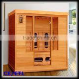Korea Canada Red Cedar Sauna Room with Computer Control Panel