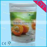Dried Apricot Stand Up Zipper Package