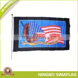 Popular for the market factory directly 100d polyester flag car emblem as car hood flags