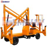 Top sale 13.5m hydraulic articulated aerial diesel boom lift