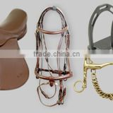 Horse Equipments Saddlery Equestrian Saddles Bridles Bits Stirrups Halters Girths Hakamores BrowBands