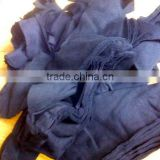 100% cotton Dark Navy Blue color hosiery clips