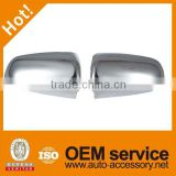 A6 chrome side mirror covers