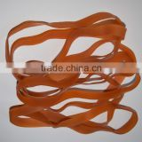 Wholesale Price 320mm Transparent Durable silicone Rubber Band, Soft Stretch Rubber Bands