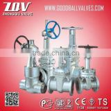 Din Outside Screw Type Cast Steel Rising Stem Gate Valve