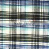 Yarn Dyed wholesale stock 100% cotton Plaid Fabric factory