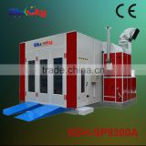 CE approved china supplier spray booth extraction fan/inflatable spray booth/oven car paint